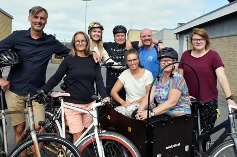 Lærere vinder cykeldyst