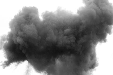 Kontrolleret afbrænding af naturgas i Randers SØ giver stor søjle af ild