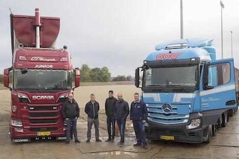 11.900 tons grus til Hornbæk