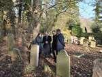 Israels ambassadør og Randers' borgmester besøgte Den jødiske begravelsesplads