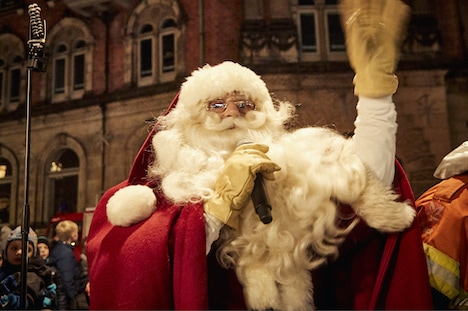 Mød julemanden i Randers City