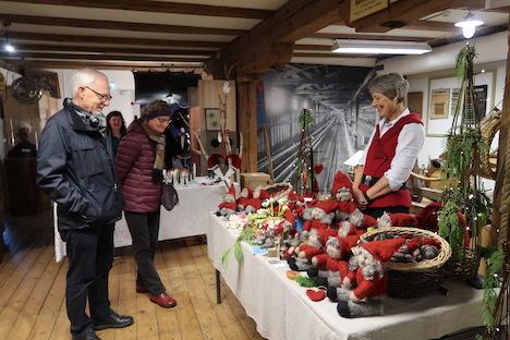 Intet bras på Håndværksmuseets julemarked