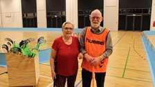 Floorball hjælper demente