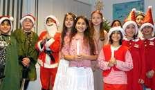 Luciaoptog og julesang hos Vestre Rotary