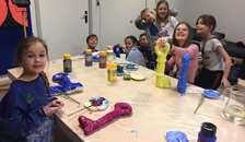 Eleverne fra Randers Kunstmuseums Billedskole åbner SOMMERUDSTILLING