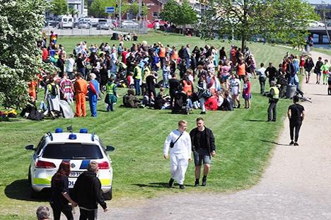 God sidste skoledag fra Østjyllands Politi!