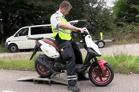 Fokus på cykler og knallerter i trafikken