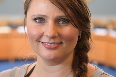 SF i Randers får det første Folketingsmedlem nogensinde