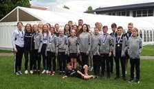 Medaljeregn og flot sæsonafslutning Swimteam Neptun