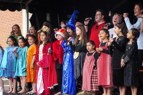 Åbning af børneteaterfestival