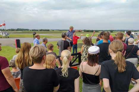 Randers Flyveklub inviterede til Nabo Flyvning