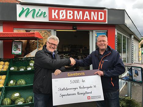 Årets Asfergborger støtter det lokale handelsliv