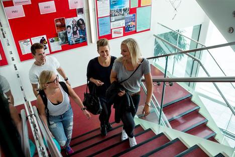 VIA i Randers tiltrækker mange studerende