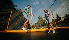 Sommeren er højsæson for trampolinskader