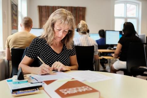 Stor tilstrømning til FVU-undervisning på Sprogcenter Randers