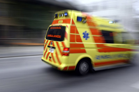 To tilfælde af færdselsuheld i Randers