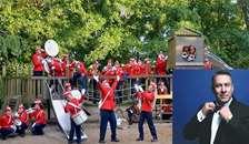 Børnedag i Jazz & Folk Teltet søndag eftermiddag