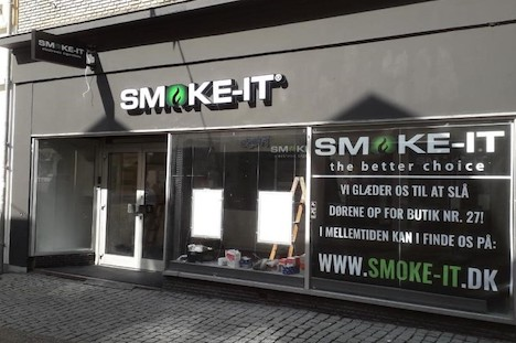 SMOKE-IT åbner ny butik i Randers