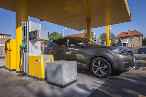 Nyt brændstof hos Uno-X i Randers