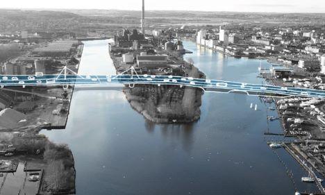 Udbyhøjvej og Dronningborg Blvd bliver Kommunens svar på infrastruktur skraldespand for Klimabroen