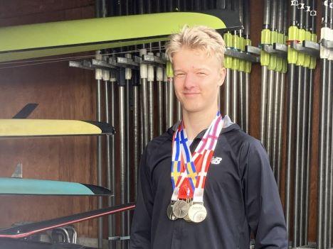 8 medaljer til Randers Roklub.