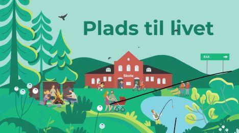 Få rum til det hele i Randers Kommunes landdistrikter