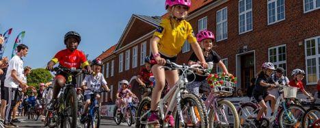 Tour de Kids indtager Tronholmparken