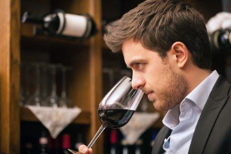 Dårlig vin på restauranten